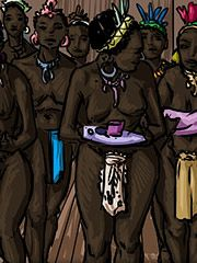 My genitalia was ignored - Adoption of my daughters and I into the tribe by Illustrated interracial